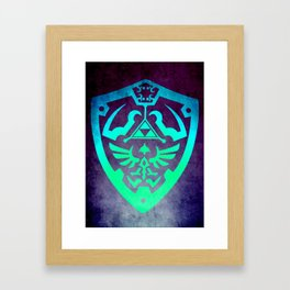 Zelda Shield Framed Art Print