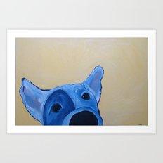 Wet Nose Art Print