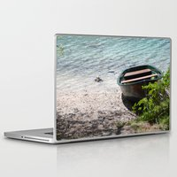 boat Laptop & iPad Skins featuring Boat by L'Ale shop