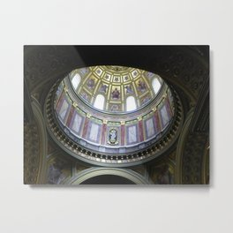 St. Stephens Basilica, Budapest, Hungary Metal Print
