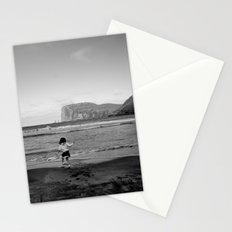 Dancing with the ocean Stationery Cards