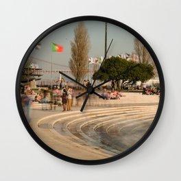 Torre de Belém Wall Clock