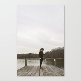 Isolated Canvas Print