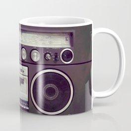 Retro Boombox Coffee Mug