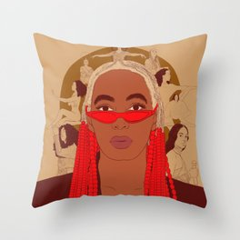 Cancer - Solange Knowles Throw Pillow
