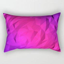 I Love Low Poly 2 Rectangular Pillow