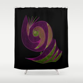 Aura IV Shower Curtain