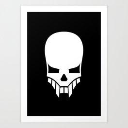 Sinister Skull Art Print