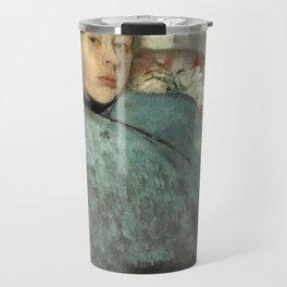 Portrait of Elena Carafa by Edgar Degas Travel Mug