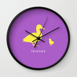 Roommates Wall Clock