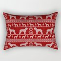 Ugly Christmas sweater | Lagotto Romagnolo red by camillahaggblom