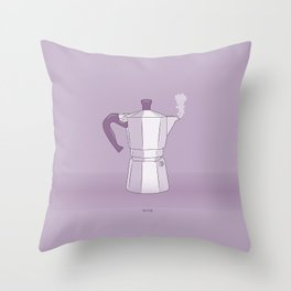 Coffee Maker Series - Moka Throw Pillow