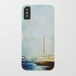 On The Front Textured Fine Art Photograpy iPhone Case