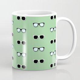 All Them Glasses - Green Coffee Mug