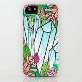 Crystal Jungle iPhone Case