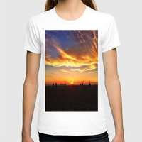 "volleyball T-shirts featuring Hermosa Beach ""Volleyball"" by Arturo Garcia"