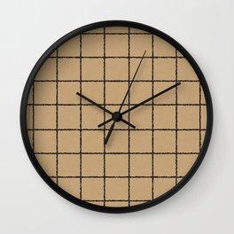 KRAFT GRID Wall Clock