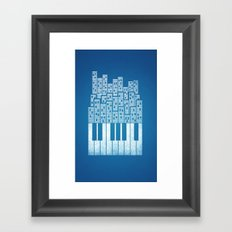 City of Amp Framed Art Print