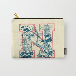 N for Nautical Carry-All Pouch