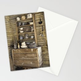 Old kitchen in Louisiana Stationery Cards
