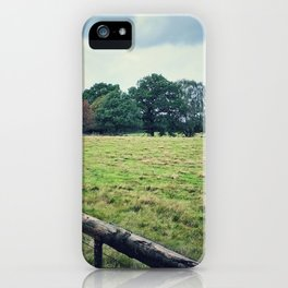 The other side of the fence iPhone Case