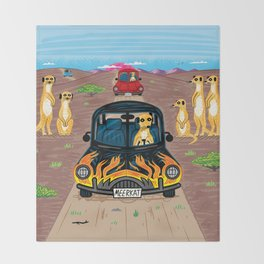 MeerCars Throw Blanket