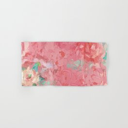 Painted Roses Hand & Bath Towel