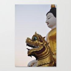 Buddha and Dragon II (Travel & Thailand)  Canvas Print