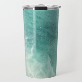 Ocean Paradise | Turquoise Sea | Blue Waves | Scarborough Bluffs Beach | Travel Photography Travel Mug
