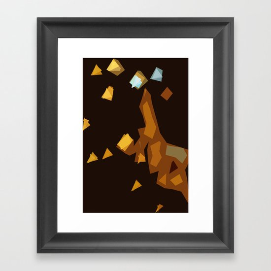 Trainwreck Framed Art Print
