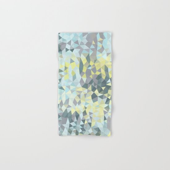 Spring Rain Tris Hand & Bath Towel
