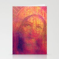 regina mills Stationery Cards featuring Salve Regina by Joe Ganech