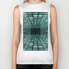 abstract perspective background Biker Tank