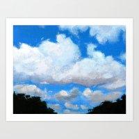Cloudy Sky Art Print