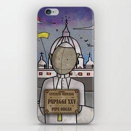 Papaggi XXV from Civitatis Vaticane (Pipe Organ) iPhone Skin