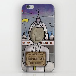 Papaggi XXV from Civitatis Vaticane (Pipe Organ) iPhone Skin