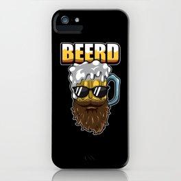 Beerd - Beer And Beard - Brewer Hipster iPhone Case