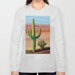 Saguaro Cactus in Desert Long Sleeve T-shirt