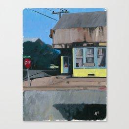 Corner Store Canvas Print