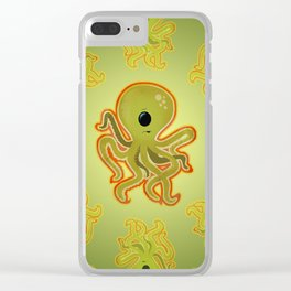 CYCLOCTOPUS Clear iPhone Case