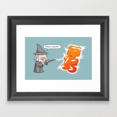 The magic of science Framed Art Print