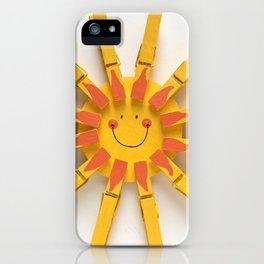 Let the sunshine in... iPhone Case