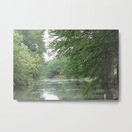 River Hideaway Metal Print