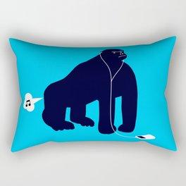 Evolution of noise pollution Rectangular Pillow