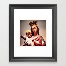 m/j Framed Art Print