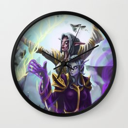 Divine Cooperation Wall Clock