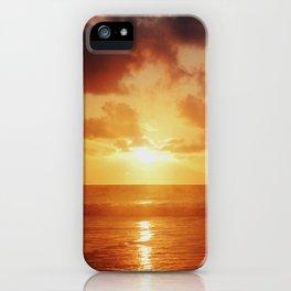 Sunrise over the Ocean iPhone Case