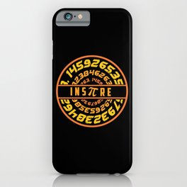 Inspire Pi | Math Science Numbers iPhone Case