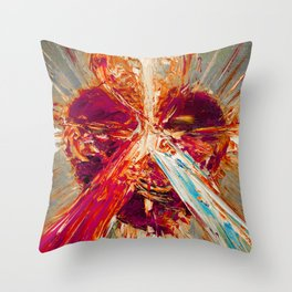 Sacred love III Throw Pillow