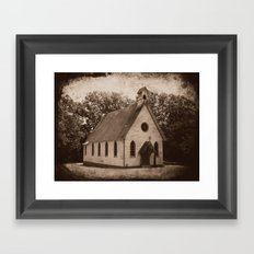Where Once We Worshipped Framed Art Print